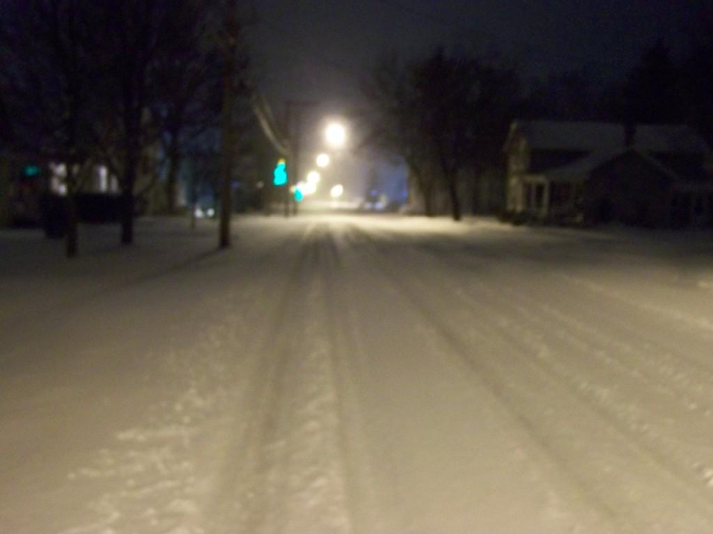 Minoa, New York Snowfall